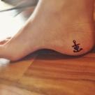 Cross Anchor Tattoos