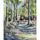 Giclee Painting: Willis' The Bush Road, 2005, 24x18in.