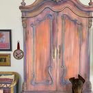 Hand Painted Furniture By The Turquoise Iris