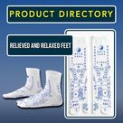 Acupressure - Reflexology Relieved And Relaxed Feet - B / One Size