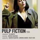 Pulp Fiction polaroid movie poster
