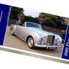 1000 Piece Puzzle. Bentley R Type Continental