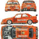 Alfa Romeo 155 V6 TI DTM blueprints, vector drawings, clipart and pdf templates