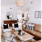 modern boho living room furniture