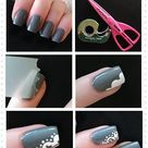 Lace Nail Design
