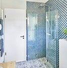 Faltbare Duschkabine