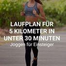 Laufen für Anfänger: Mit diesem Trainingsplan 5 Kilometer joggen