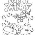 Top 15 Ausmalbilder Super Wings - Ausmalbilder Für Kinder Lernen