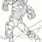Desenhos para Desenhar Homem de Ferro 4