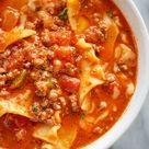 5-Minute Instant Pot Beef Lasagna Soup