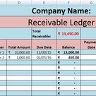 Download Accounts Receivable Excel Template - ExcelDataPro