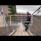 Germany's 🇩🇪 longest suspension bridge