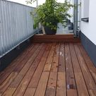 Cumaru-Terrassendielen glatt, beste Sortierung, FSC 100%
