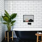 Metrofliesen in Küche und Bad - Schöne Ideen für Wand- und Bodengestaltung