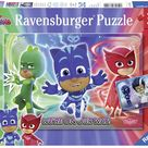 Ravensburger 07622 PJ Masks Good Against Evil, Puzzle, Brown