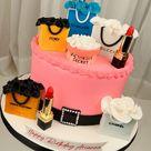 🛍 Designer Bags Cake 🛍 🎂 Red Velvet with a Cheesecake Center 🤤