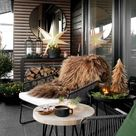 20 Ideen, wie Sie Balkon oder Terrasse weihnachtlich dekorieren