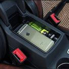 Audi Q3 2013 2017 Plastic Armrest Storage Pallet Container Box Cover Best Price OemPartsCar.com