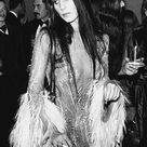 1970s Cher Hair and a High Wattage Party Dress: Our Halloween Party Obsession