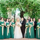 Green & Gold Old Florida Inspired Clearwater Beach Wedding   Carlouel Yacht Club