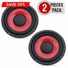 6.5 inch Subwoofer Replacement  DJ Speaker Sub Woofer Loudspeaker Wide Range Loud 5 Core WF 690 PP 2 PCS ⭐⭐⭐⭐⭐Ratings ✔️ Best Deal