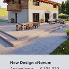 Niedrigstenergiehaus New Design Novum