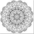 ▷ 1001+ dessins de mandala à imprimer et à colorer
