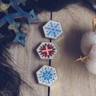 Snowflakes Set Winter Collection   Seconds / Grade B