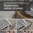 DIY | Badematte stricken - mxliving