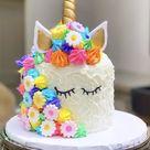 UNICORN Rainbow Sprinkle Burst Cake Kit