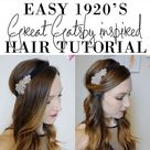 Easy 1920's/Great Gatsby Hair Tutorial   Olive & Ivy