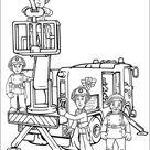 Kids-n-Fun   Kleurplaat Brandweerman Sam Brandweerman Sam