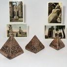 Ancient Egyptian Statue of King Tutankhamun Heavy Stone Made | Etsy