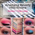 Anastasia Beverly Hills Riviera Palette   Review, Swatches and 7 Looks
