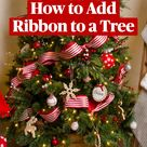 How to Add Ribbon to a Tree