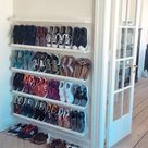 27 Creative and Efficient Ways to Store Your Shoes in 2020 | Closet shoe storage, Diy shoe storage,