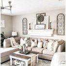 cute farmhouse decor living room