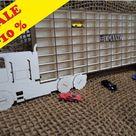 Hot Wheels Boys Wood Truck Display Case Toy Matchbox Storage   Etsy