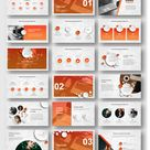 Annual Report Art Design Powerpoint Template – Original and High Quality PowerPoint Templates