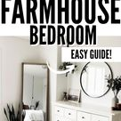Decorating on a Budget Farmhouse Master Bedroom Makeover Bedroom Decor, Bedroom Interior Design