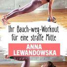 Workout: Bauch weg mit Anna Lewandowska - FIT FOR FUN