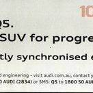 2009 AUDI Q5   Australia, Page TWO of TWO. 100 years of AUDI.