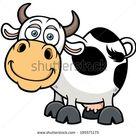Бесплатные фото на Pixabay - Корова, Мультфильм, Смешные, Милый
