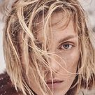 Anja Rubik Takes On Rugged Winter Looks for Vogue Germany