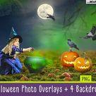 Halloween overlays creativework247