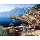 GATYZTORY 40×50CM DIY Painting By Numbers Picture Colouring Zero Basis HandPainted Oil Painting Unique Gift Home Decor - 99021 / 60x75cm diy frame