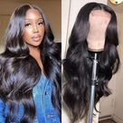 Rihanna Style Super Loose Wave Lace Frontal Wig - 14 inches / 13X4 Lace
