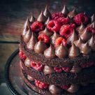 Easy Chocolate Cake With Raspberries - Sugar et al