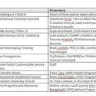 Utah Children's Care Coordination Network