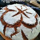 Tolles und einfaches Rezept für Roggen Sauerteigbrot sourdough sauerteigbrot lecker brotbacken